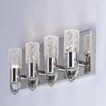 Crystol 4 Light LED Wall Sconce