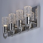 Crystol 4-Light LED Wall Sconce