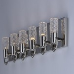 Crystol 6 Light LED Wall Sconce