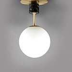 Vesper 1-Light Semi-Flush
