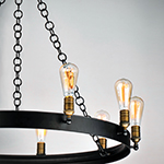 Noble 10-Light Chandelier