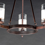 Crescendo 3-Light Chandelier