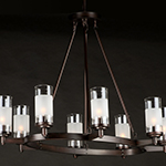 Crescendo 8-Light Oval Chandelier