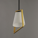 Oblique 1-Light Pendant