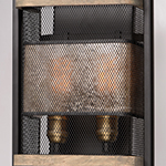 Boundry 2-Light Wall Sconce