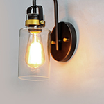 Magnolia 1-Light Wall Sconce