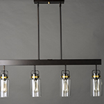 Magnolia 4-Light Linear Pendant