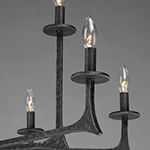 Anvil 9-Light Chandelier