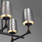Anvil 8-Light Linear Pendant w/Shades