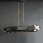 Flow 5-Light Linear Chandelier
