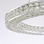"Eternity LED 50"" Single Pendant"