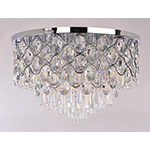 Jewel 12-Light Flush Mount
