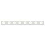 Essentials 8-Light Bath Vanity Strip Light
