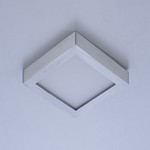 "Wafer LED 4.5"" SQ 3000K Wall/Flush Mount"