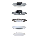 Convert LED Flush Mount