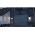 Civic LED 1-Light Large Outdoor Wall Lantern
