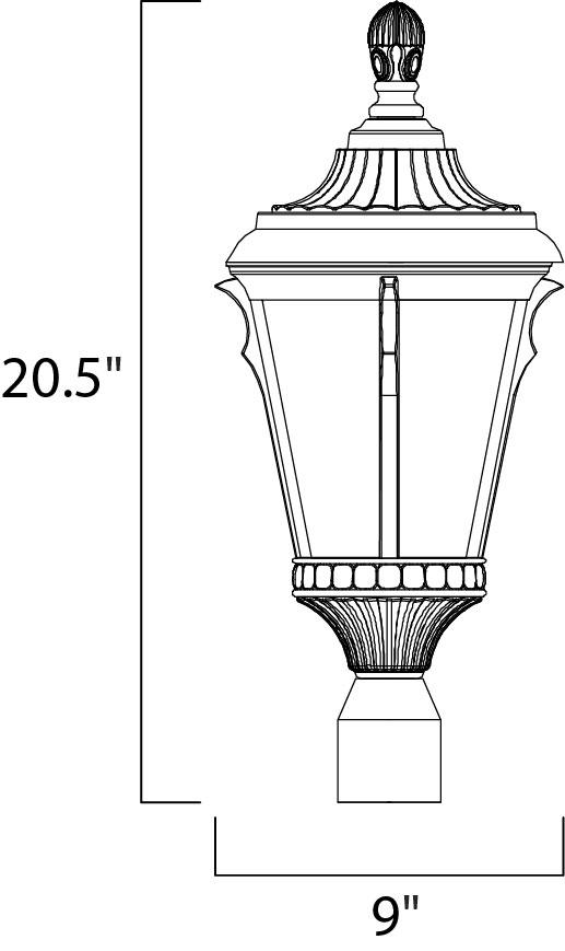 Odessa Cast 1 Post Lantern