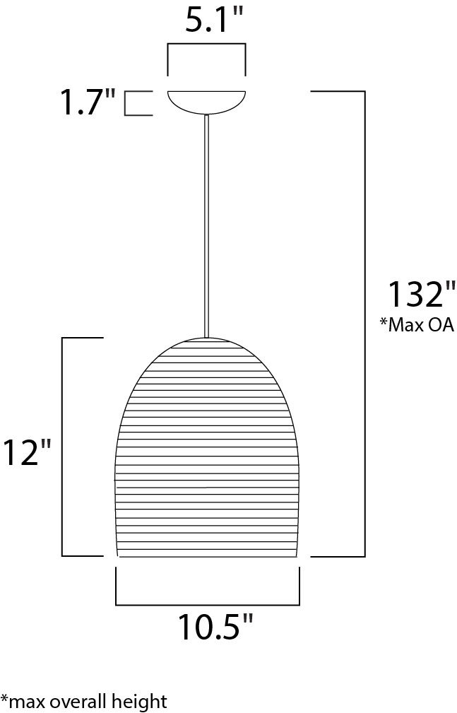 Line Drawing Java : Java single pendant nx brose electric lighting