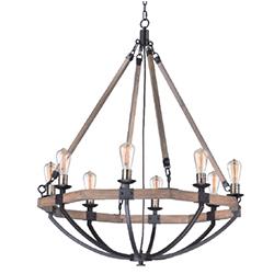 Chandeliers indoor chandelier lighting maxim lodge 8 light chandelier new aloadofball Image collections