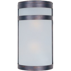Wall Mounted Arc Lights : Arc LED 1-Light Outdoor Wall Lantern - Outdoor Wall Mount - Maxim Lighting