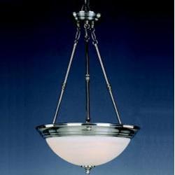 3 Light Pendant Cfl Invert Bowl Maxim Lighting