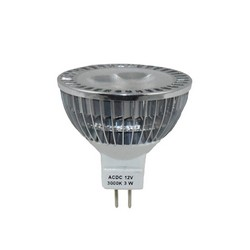 BUL-3W-MR16-FL-CL-12V