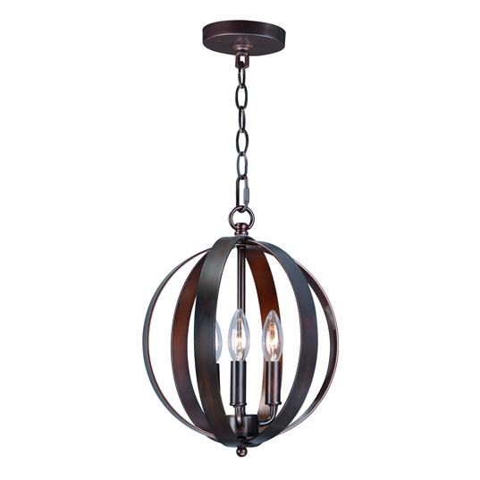Provident 3 light chandelier single pendant maxim lighting 10030oi aloadofball Images