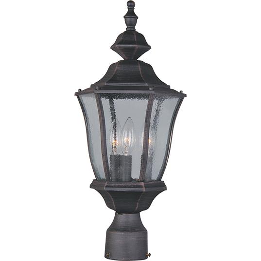 Light Pole Terminology: Madrona Cast 3-Light Outdoor Pole/Post Lantern