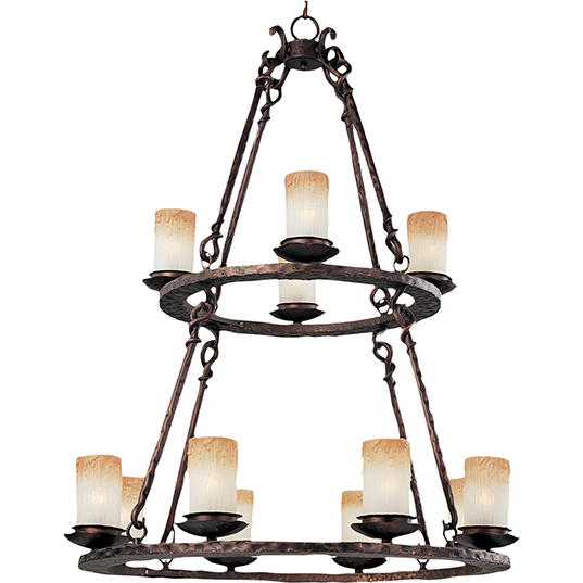 Notre dame 12 light chandelier multi tier chandelier maxim lighting 10977wsoi mozeypictures Images