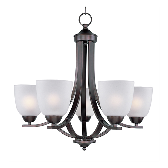 Axis 5 light chandelier single tier chandelier maxim lighting 11225ftoi mozeypictures Choice Image