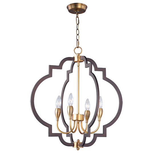 Crest 4 Light Chandelier
