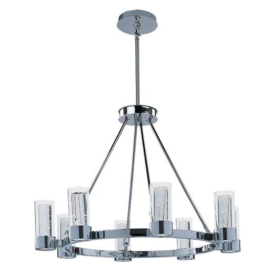 Sync LED 8 Light Ring Chandelier
