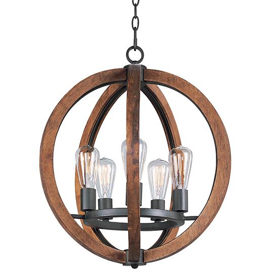 Bodega bay 5 light chandelier single tier chandelier maxim lighting 20917apar mozeypictures Gallery