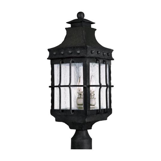 Nantucket 3 light outdoor polepost lantern outdoor polepost 30080cdcf aloadofball Image collections