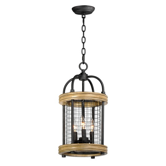 Lancaster 3 Light Pendant 32383DWBK