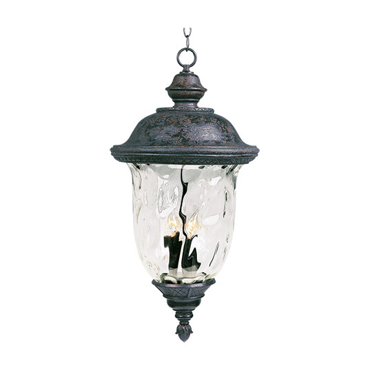 Carriage House DC 3-Light Outdoor Hanging Lantern