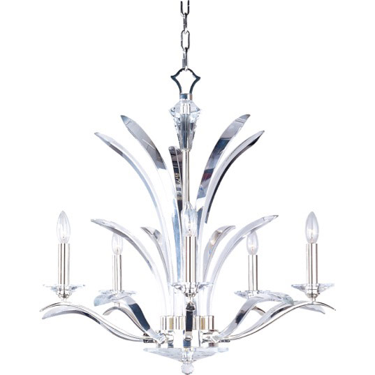 Paradise 5 light chandelier single tier chandelier maxim lighting 39948bcps mozeypictures Images