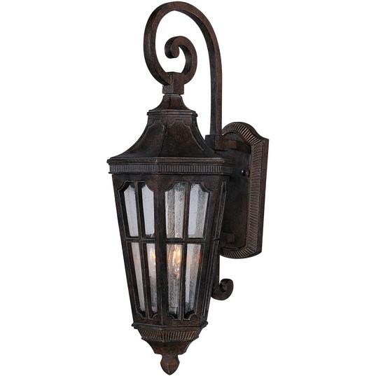 Outdoor Wall Lights Beacon Lighting: Beacon Hill VX 3-Light Outdoor Wall Lantern