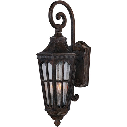 Beacon hill vx 3 light outdoor wall lantern outdoor wall mount 40155cdse mozeypictures Images
